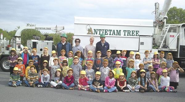 Antietam Tree Arbor Day with Kids
